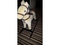 Rocking horse with noises, collection only from s smoke free home