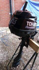 Tohatsu 3.5 4 stroke outboard engine