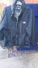 Womens North face waterproof jacket size 16