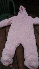 Baby bear outdoor suit