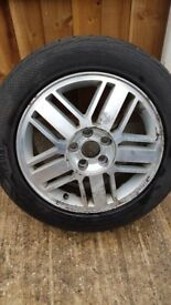 "16"" Ford Focus Alloy Wheel & Tyre"