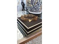 Gold Gate Bracelet