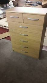 New Hallingford 5+2 Drawers Chest