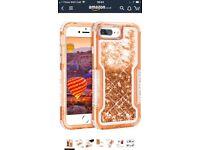Coolden iPhone 7 Plus Case, Heavy Duty Quicksand Liquid iPhone 7 Plus Glitter Case Protective Case
