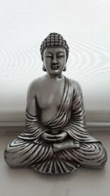 Thai Meditating Buddha Figure Ornament Statue
