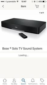 Bose solo . Tv system👍