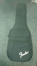 Fender Guitar bag and gt strap