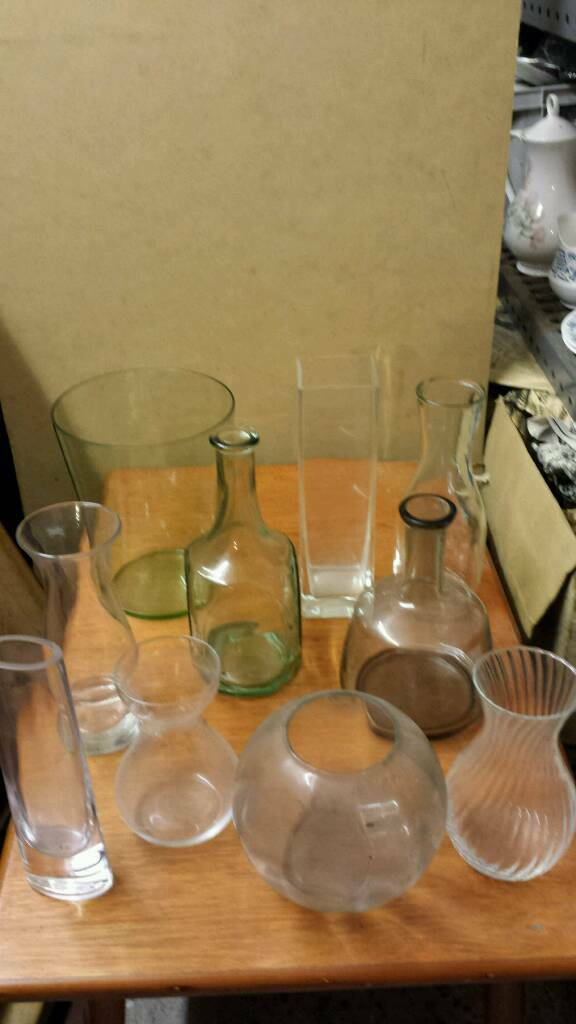 Assorted Glass Vases In Barnet London Gumtree