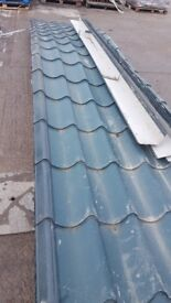 Tile clading roofing
