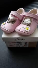 Brand new Clarks children shoes