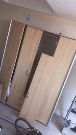 4 door wardrobe cupboard going cheap grab a bargain