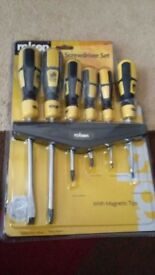 Set of Magnetic Screwdrivers - Brand new (set of 6)