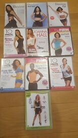 Fitness DVDs - Davina & others