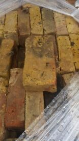 Yellow London Stock Bricks / Yellow Bricks / Old Reclaimed / Second-Hand