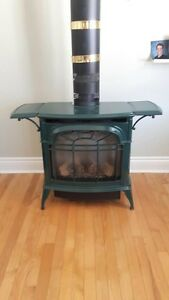 Dafoe natural gas fire place