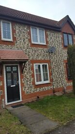 Immaculate two bedroom unfurnished house for rent in Chafford Hundred