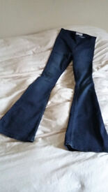 Free People Penny pull-on Flares waist size 26 £40