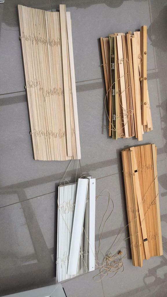 4 wooden blinds   in Trafford, Manchester   Gumtree