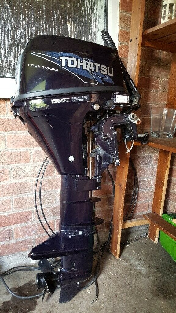 Tohatsu 8hp Outboard Motor Engine 2012