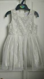 Girls party dress age 2 - 3