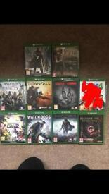 Xbox One Games Bundle