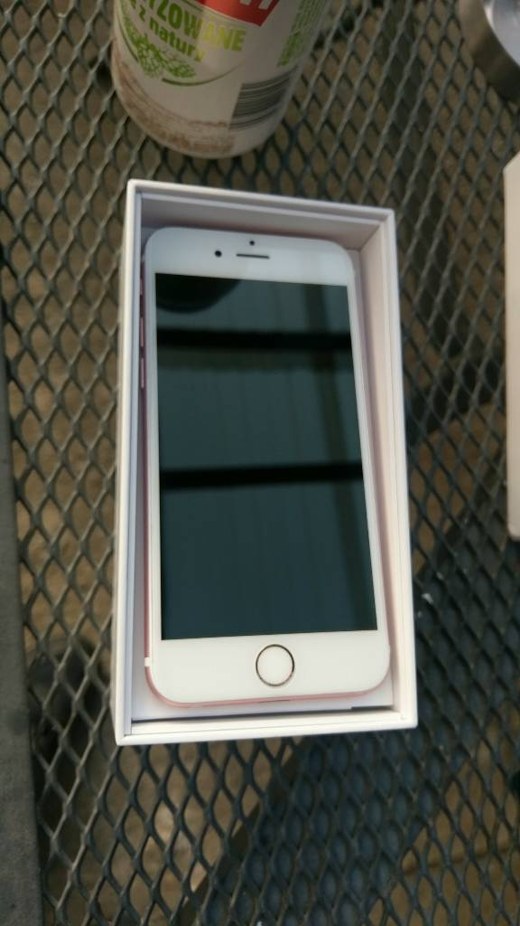Iphone 6s rose gold unlocked to all networks