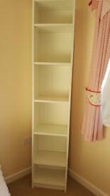 IKEA Tall White Shelves