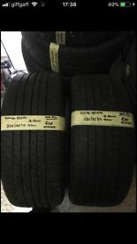 225/55/17 225-55-17 2255517 97W KUMHO PAIR OF 2 TYRES