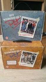 AUF WIEDERSHEN PET DVD COMPLETE SERIES 1 & 2 BOXSETS (RARE TOOLBOX SHAPED BOXSETS)