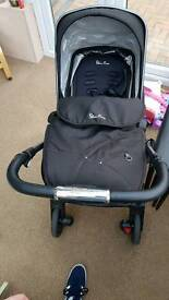 Silver Cross buggy and car seat