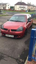 SOLD!!! Renult clio 1.25 16v lowered!!!