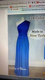 Royal Blue Maxi Multiway Dress
