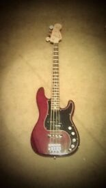 Fender, American Deluxe Precision Bass