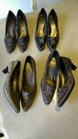 4 prs special occassion shoes £5 pr