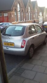 NISSAN MICRA RELIABLE LOW MILEAGE £700