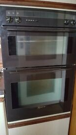 NEFF Grille and Oven fitted unit