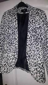H & M blazer size 10