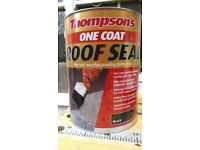 Thompson's One Coat Roof Seal 5 litres - unused/unopened