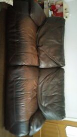 Electric reclining sofa and chair