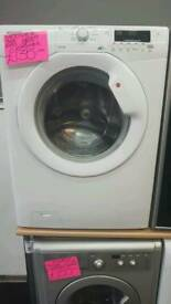 HOOVER 7KG LOAD 1600 SPIN WASHING MACHINE IN WHITE