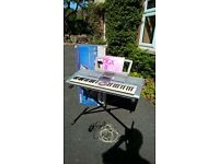 Yamaha PRR-29S Electric Keyboard with stand