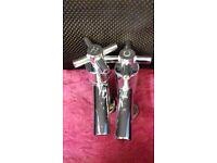 Pair of brand new brass taps. 3 pairs available.