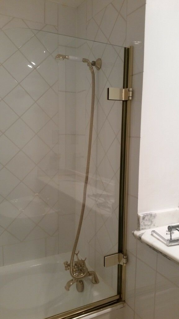 Majestic Alessi High Quality Shower Bath Screen. 134 cm x 760 cm ...