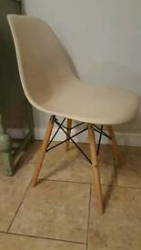Eames style dining chairs