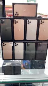IPHONE 11 PRO MAX 256GB UNLOCK BRAND NEW BOX OPEN ON ALL NETWORK AND APPLE WARRANTY