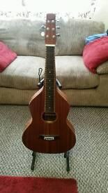 Anderwood Weissenborn Style Big Island Edition Lap Steel Electro Acoustic Guitar