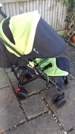 Silver cross pop wasabi stroller
