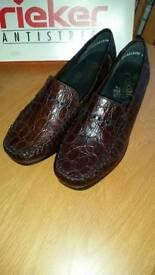 Ladies RIEKER Flat shoes