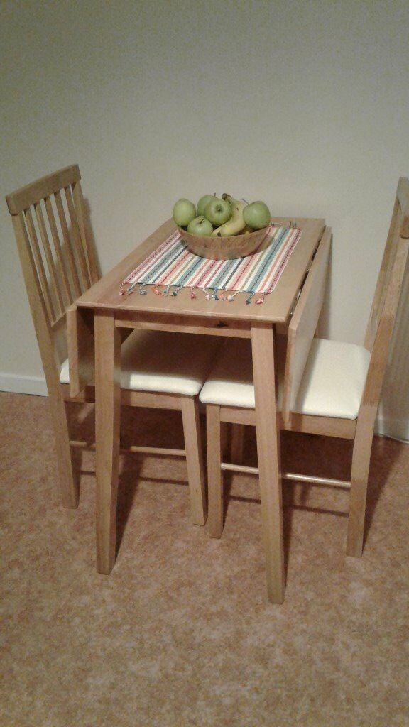 Folding Table Two Chairs