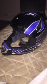 Kids large full face helmet